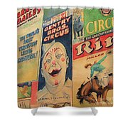 Sawdust And Greasepaint 2 Shower Curtain