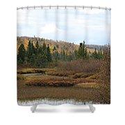 Sawtooth Swamp Shower Curtain
