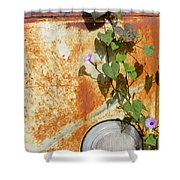 Say Goodbye Shower Curtain by Carolyn Marshall