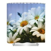 Say It With Flowers Shower Curtain