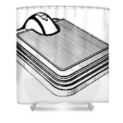 Scale, 1938 Shower Curtain