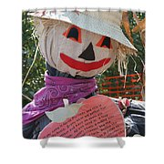 Scarecrow Andy Shower Curtain