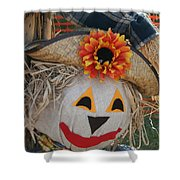 Scarecrow Annie Shower Curtain