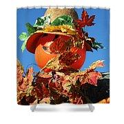 Scarecrow Boa Shower Curtain