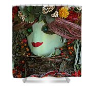 Scarecrow Bounty Shower Curtain