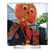 Scarecrow Candy Shower Curtain