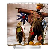 Scarecrow Shower Curtain