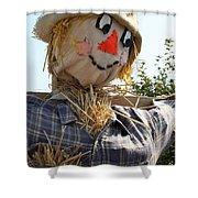 Scarecrow Farmer Shower Curtain