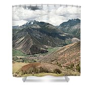Scared Valley II Shower Curtain