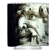Scary Face Shower Curtain