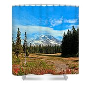Scenic Mt. Hood In Oregon Shower Curtain