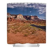 Scenic Road 2 Shower Curtain