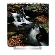 Scenic View Of A Waterfall On Smith Shower Curtain