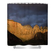 Scenic View Of Zion National Park Shower Curtain