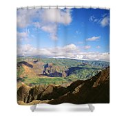 Scenic Waimea Canyon Shower Curtain