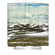 Scenic Wyoming Shower Curtain