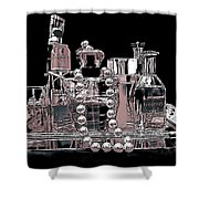 Scents Of A Woman Abstract Shower Curtain