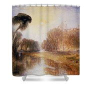 Schloss Rosenau Shower Curtain