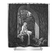 Schoenbrunn Palace, 1823 Shower Curtain