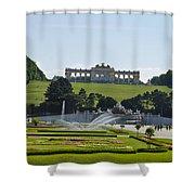 Schonbrunn Palace Gardens  Shower Curtain