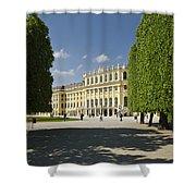 Schonbrunn Palace Vienna Austria Shower Curtain