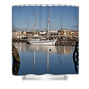 Schooner 7 Shower Curtain