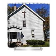 Sciola Baptist Church 1864 Shower Curtain