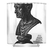 Scipio Africanus Shower Curtain by Granger