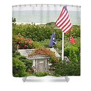 S'conset Hut 4 Shower Curtain