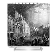 Scotland: Aberdeen, 1833 Shower Curtain
