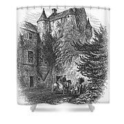 Scotland: Castle Shower Curtain