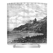 Scotland: Dunrobin Castle Shower Curtain