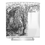 Scotland: Jedburgh House Shower Curtain