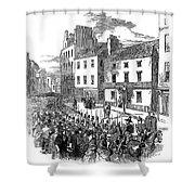 Scotland: Perth, 1848 Shower Curtain