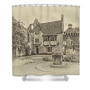 Scotney Castle Shower Curtain