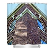 Scott County Courthouse Corner Detail Shower Curtain