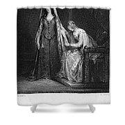 Scott: Ivanhoe, 1832 Shower Curtain