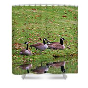 Scott Lake Visitation Shower Curtain