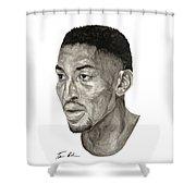 Scottie Pippen Shower Curtain