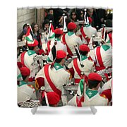 Scouts Parade Shower Curtain