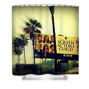 Screen Actors Guild In La Shower Curtain