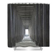 Scripps Pier La Jolla California2 Shower Curtain