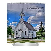 Scriptue And Picture Isaiah 56 7 Shower Curtain