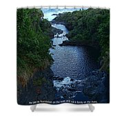Scripture And Picture Psalm 24 2 Shower Curtain