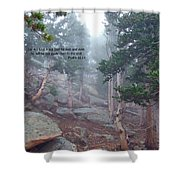 Scripture And Picture Psalm 48 14 Shower Curtain