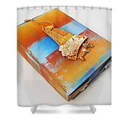 Sea Change Box Shower Curtain