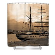 Sea Cloud II Shower Curtain
