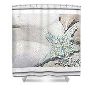 Sea Foam In Pastels Shower Curtain