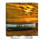 Sea Isle Dawn Shower Curtain