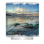 Sea Knot Shower Curtain